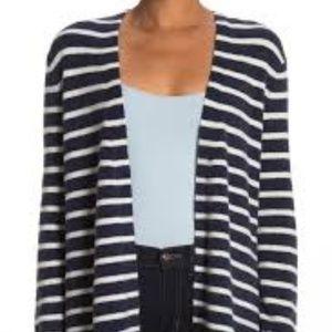Madewell XS Cozy Short Walker Stripe Cardigan